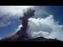 Eksplozja wulkanu w Gwatemali