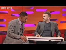 Will Smith i Gary Barlow śpiewają 'The Fresh Prince of Bel-Air'