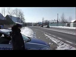 Kto zarządza bezpieczeństwem drogowym w tym miejscu?