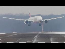 Lądowanie i starty podczas wiatru