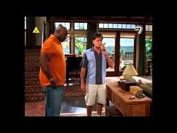 Dwóch i Pół - scena z telefonem Jake'a