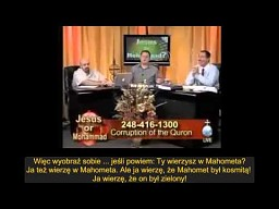 Muzułmanin dzwoni do telewizji chrześcijańskiej