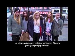 Norweżki przechodzą na islam za bilet na Biebera