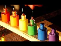 The Slow Mo Guys - tubki z farbą