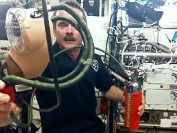 Maski przeciwpożarowe na ISS
