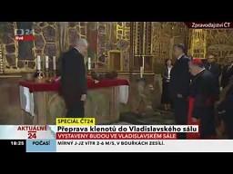 Prezydent Czech po śliwowicy