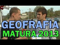 Matura 2013 Geografia - szybka powtórka