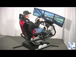 BlueTiger Full-Motion Racing Simulator