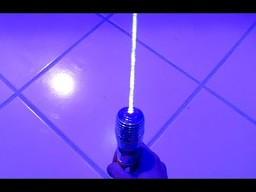 Miecz świetlny z diody laserowej