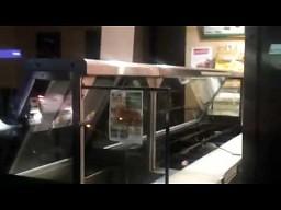 Szczur je darmową kolacje w Subwayu