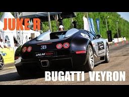 Bugatti Veyron vs Nissan Juke R