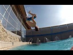 Świetny klip z wyjazdu do aquaparku!