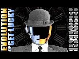 Ewolucja melodii Get Lucky - Daft Punk