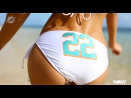 "Miami Dolphins Cheerleader - ""22"""