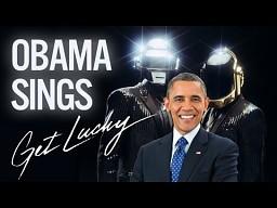 Barack Obama śpiewający Get Lucky
