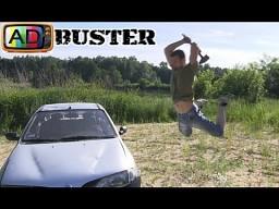 AdBuster - Renault Megane Destroy!