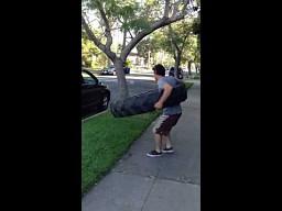Grube hula-hop