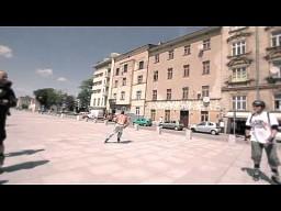 W Krakowie na rolkach jeżdżą tak