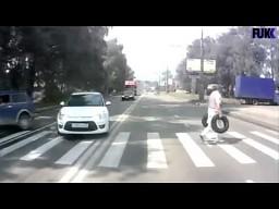Hamowanie przed przejściem