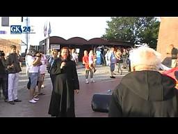 Dmuchany kościół stanął w Kołobrzegu