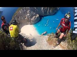 Base Jump na Zakynthos