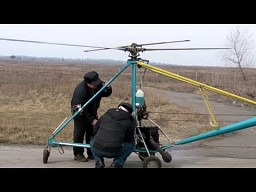 Rosjanin zbudował sobie helikopter
