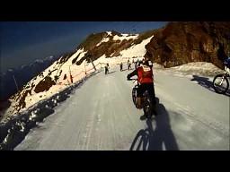 Alpejski zjazd rowerem