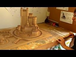 Drewniany zamek z Gry o Tron
