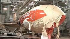 Jak wygląda stanowisko lakiernicze Boeinga 777