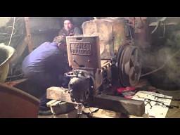 Lanz Bulldog - niemiecki ciągnik, odpalony po 40 latach