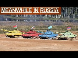 Biathlon czołgiem