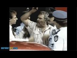 Aresztowanie Australijczyka