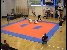 Efektowny nokaut Kyokushin Karate
