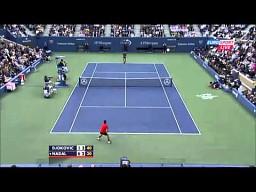 Djokovic vs Nadal - spektakularna wymiana