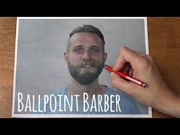 Golibroda z ołówkiem