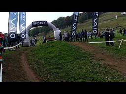 Borat na zawodach rowerowych