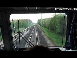 Obrzucenie pociągu przy 160 km/h!