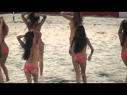 Cheerleaderki na Beach Soccer World Cup 2013