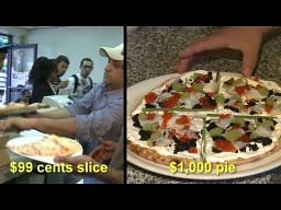 Różnica między pizzami za dolara, a tysiąc