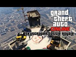 Destruction Derby na szczycie wieżowca w GTA V Online