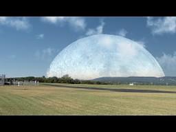 Jak wyglądałby Księżyc na ziemskim niebie, gdyby poruszał się po orbicie ISS?