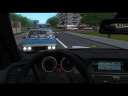 Symulator jazdy po rosyjskich drogach
