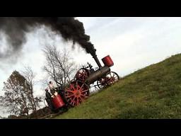 Traktorem pod górkę