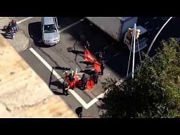 Nowojorscy policjanci kontra longboardziści