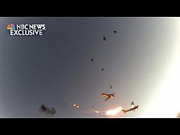 [HelmetCam] Awionetki zderzyły się w powietrzu