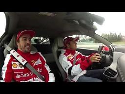 Massa i Alonso po godzinach