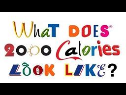 Jak wygląda 2000 kalorii?