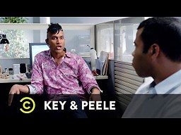 """Key & Peele w skeczu """"Biurowy homofob"""""""