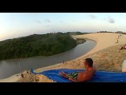 Brazylijski park wodny na wydmie