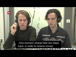 Ylvis Prank - Bankomat aktywowany głosem